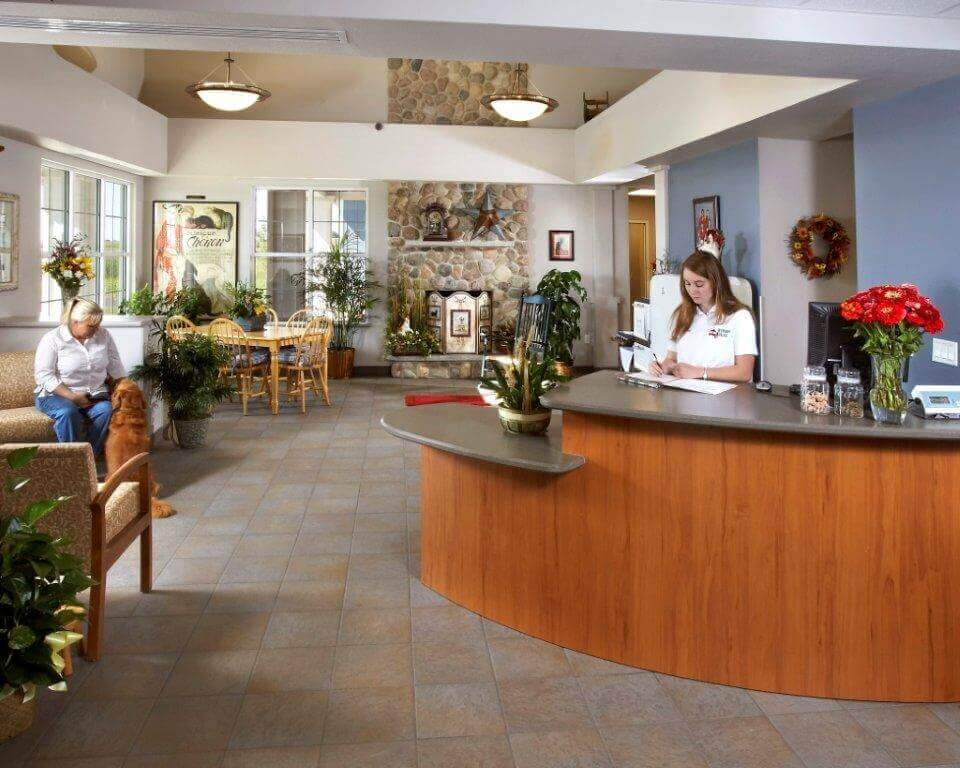 Veterinary Village Lobby